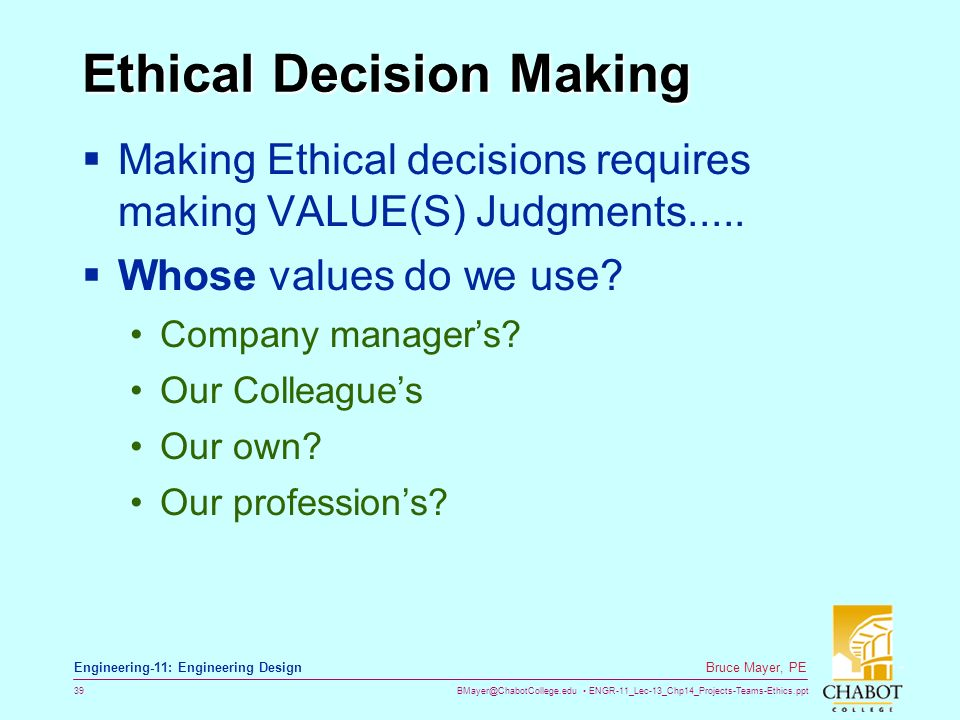 can we make our own ethical In this article we will take the opportunity to consider the ethical implications of   a good step towards an increased consciousness is to do our own mea culpa,.