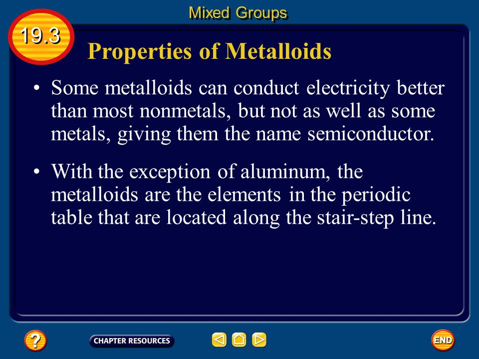 periodic table periodic table metalloids characteristics ppt video online download - Periodic Table Metalloids