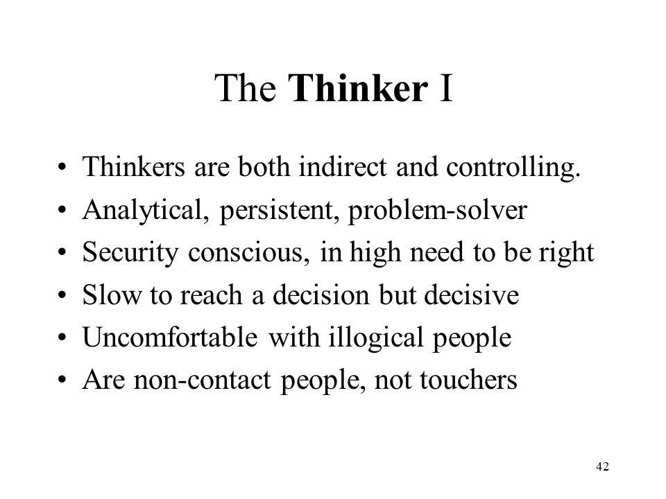decisive thinker The best leaders, are the clever thinkers who are able to sizes things up, connect  the dots, see the potential, and act decisively when no one else can.