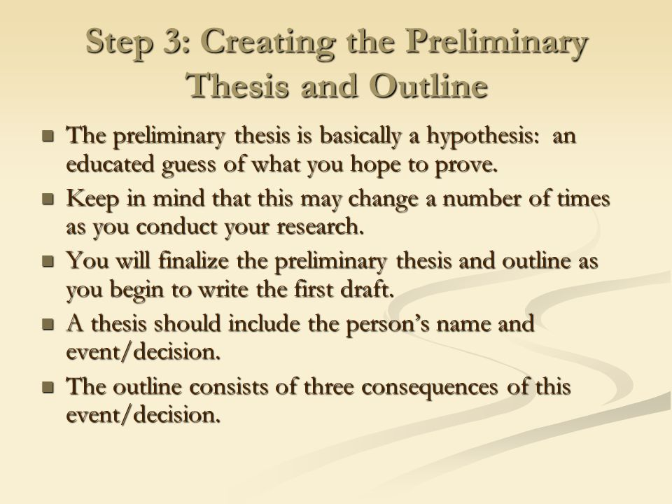 preliminary thesis Remove this page of directions when submitting proposal preliminary master's thesis proposal information systems graduate program school of information technology.