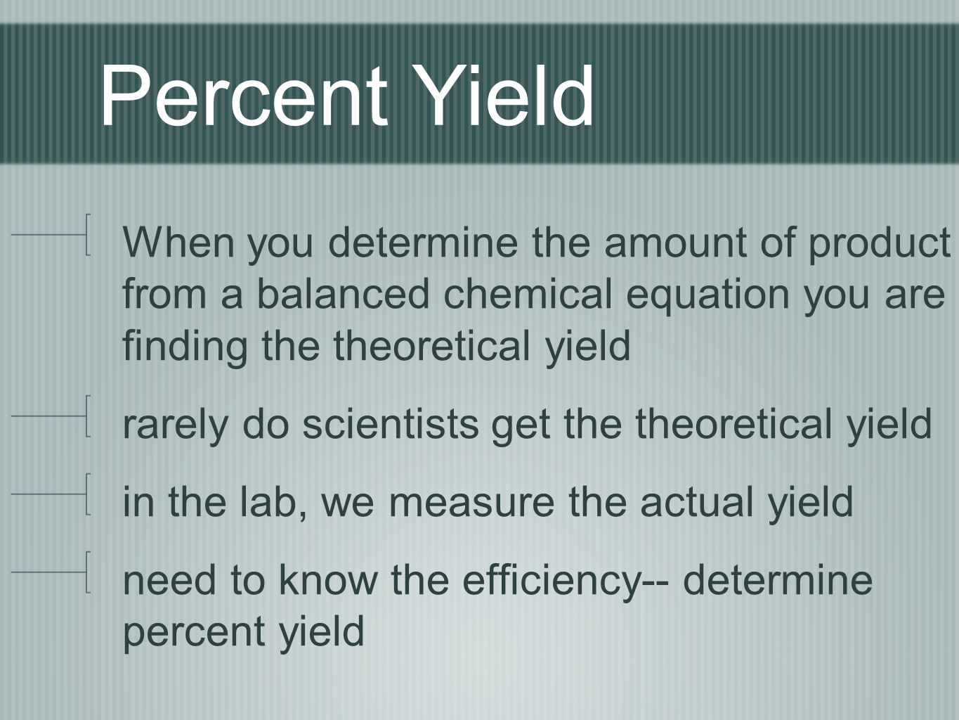 3 Percent Yield When You Determine  010007050_19fd6421d2f4dadc66672ed6f2fbe52eeg How To Find Percent