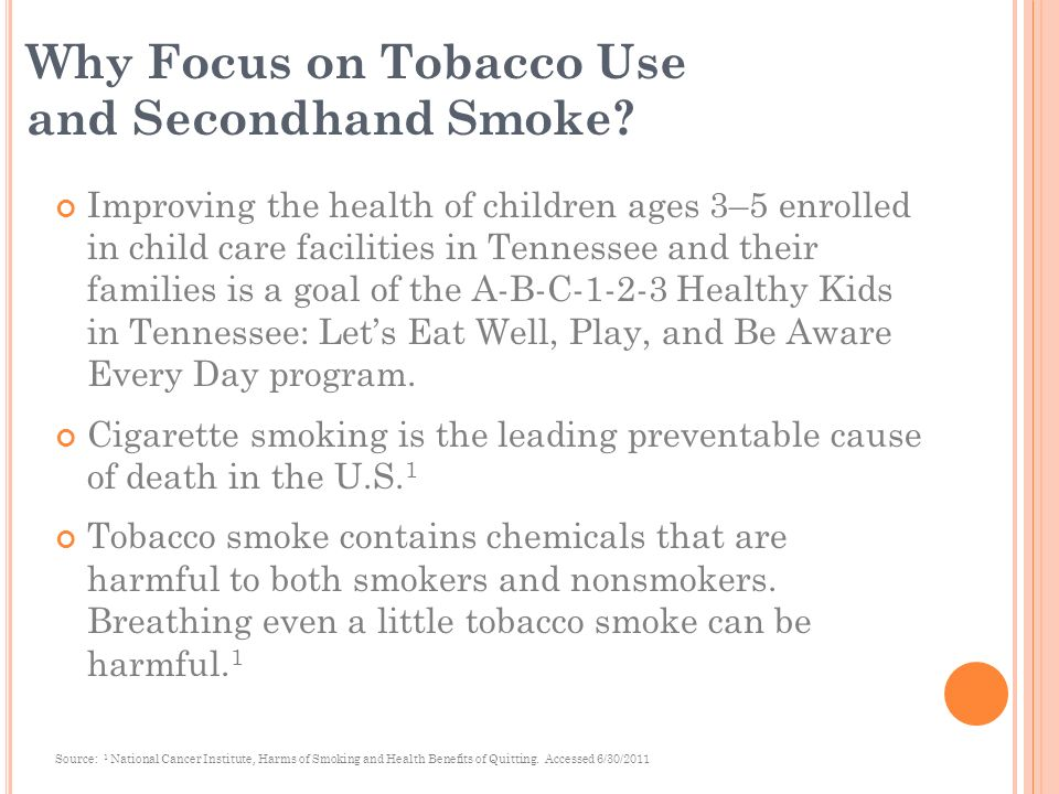 Tennessee Smokes Kids Day