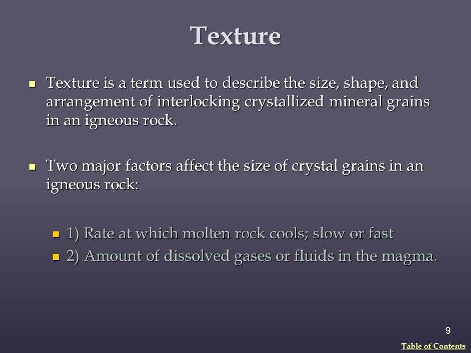 Igneous Rocks and the Rock Cycle - ppt download