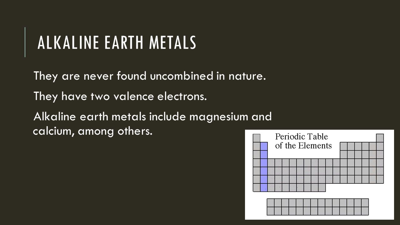 Periodic table alkaline metals image collections periodic table alkali earth metals on periodic table images periodic table images the periodic table shinelle barretto a3 gamestrikefo Images