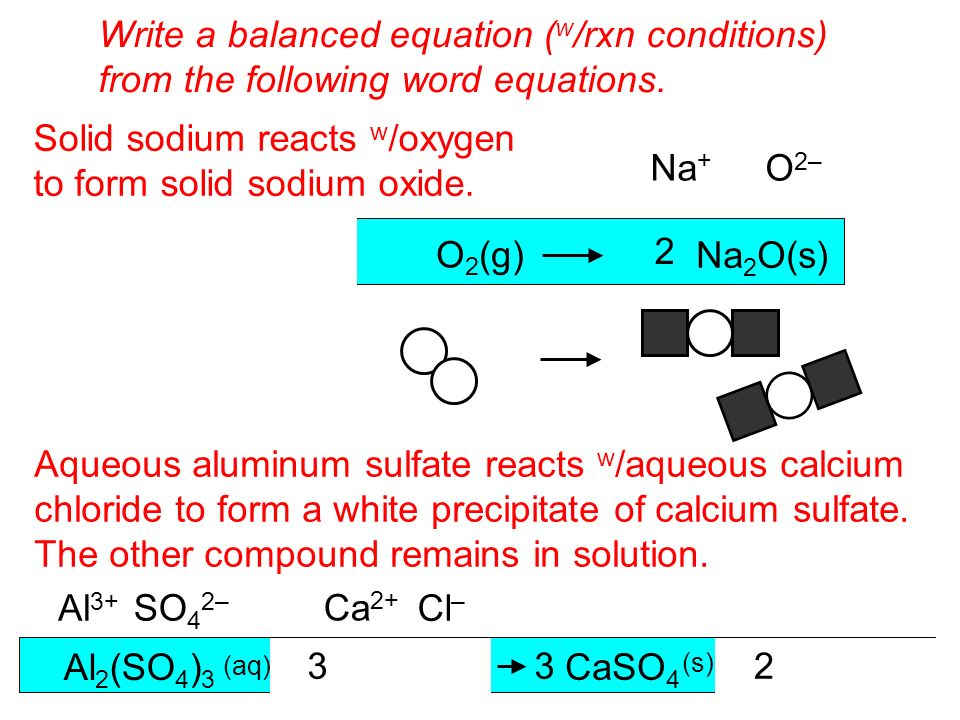 Write a balanced equation. Iron metal reacts with oxygen gas to form rust [iron(III)oxide]?