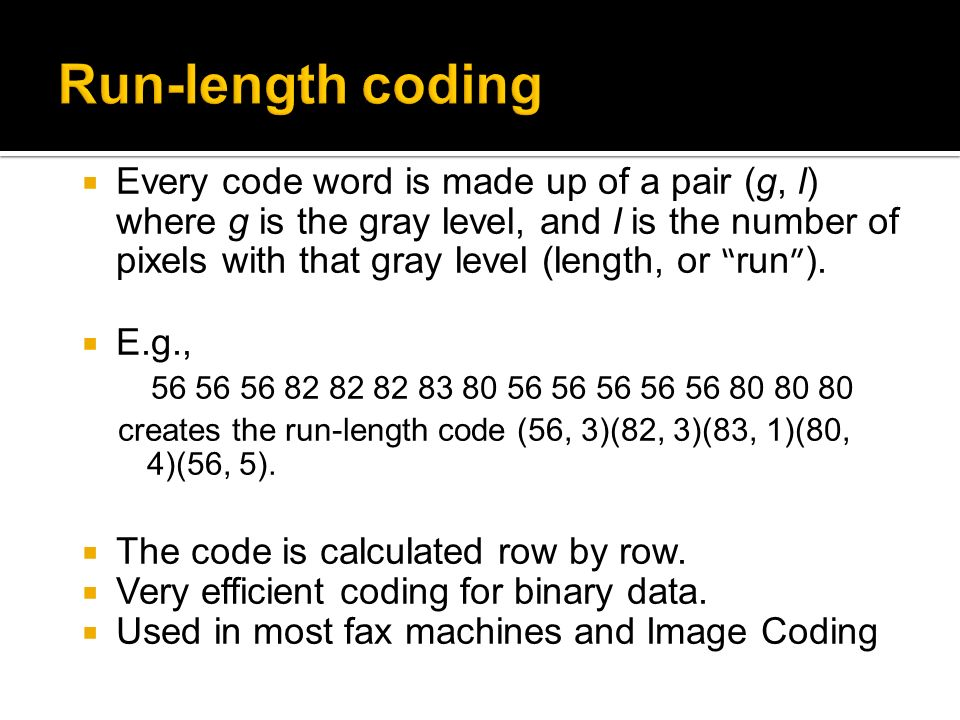 Chapter 2 Source Coding Part 2 Ppt Video Online Download