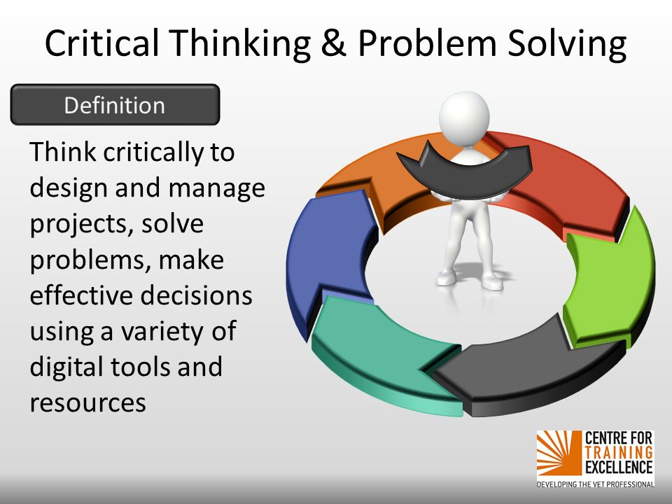 critical thinking as an important aspect of problem solving