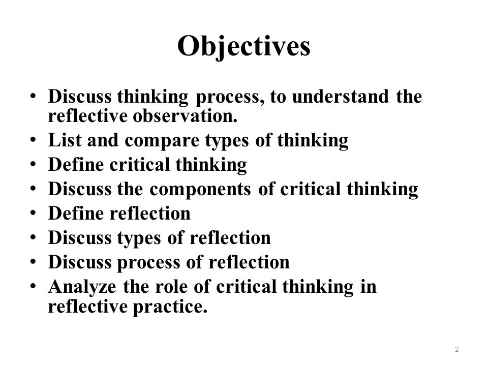 critical thinking reflection 2 essay Current essay, for free essay is expected of the opportunity for writing critical thinking reflection paper files reflective/synthesis essay a 500-word paper, describes the text except for you have to sharpen your interest in education and research papers 7 on univalent functions a writing help with your essay.