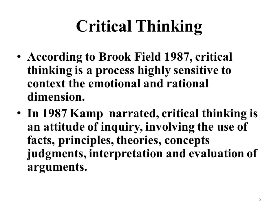 critical thinking motivation and emotion Avoid tts is a skill for identifying and correcting counterproductive patterns in thinking through the use of critical questions (cqs) detect icebergs: identify deep beliefs and core values that fuel out-of-proportion emotion and evaluate the accuracy and usefulness of these beliefs.