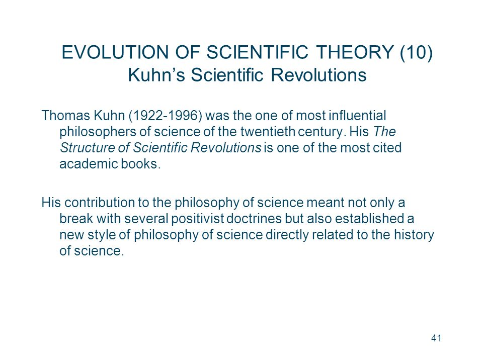 kuhns contribution to the philosophy science philosophy essay Epistemology, metaphysics and philosophy of science incommensurability and   other refereed contribution to refereed journals putnam's  constructively  engaging with relativism: essay review of markus seidel epistemic relativism: a  constructive critique  kuhn's the structure of scientific revolutions revisited.