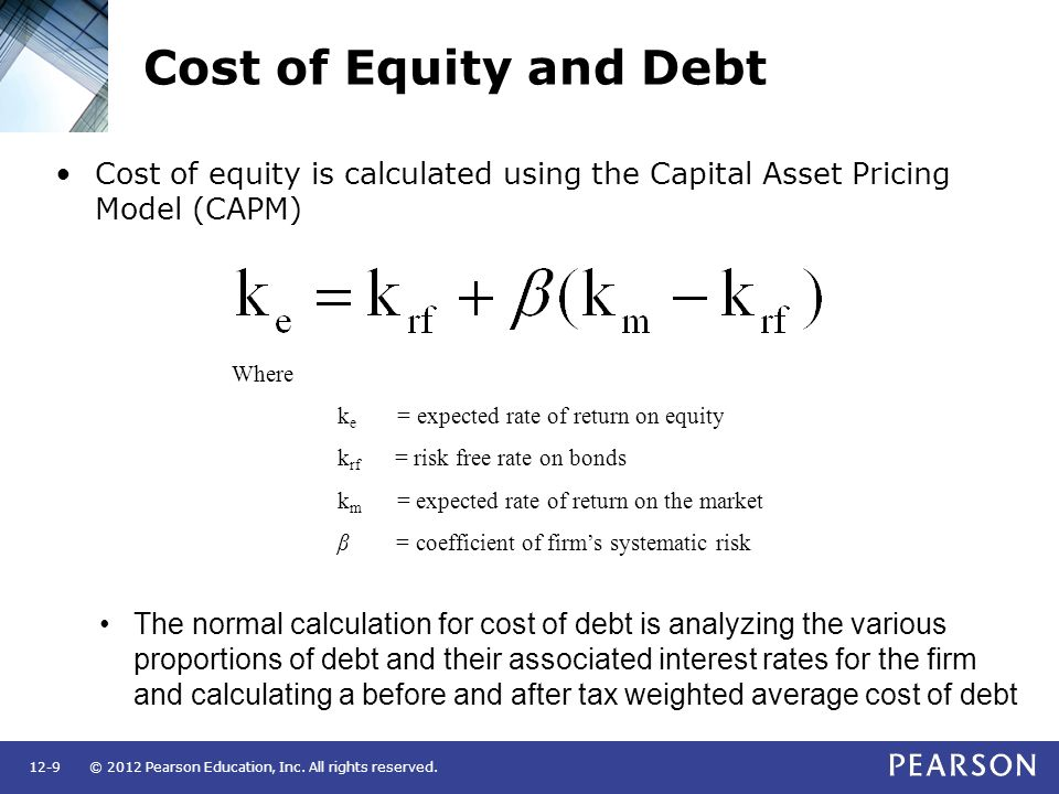capital asset pricing model and bond 80 overview this class extends the diversification material in deriving the capital asset pricing model (capm) this model is widely used in capital budgeting.