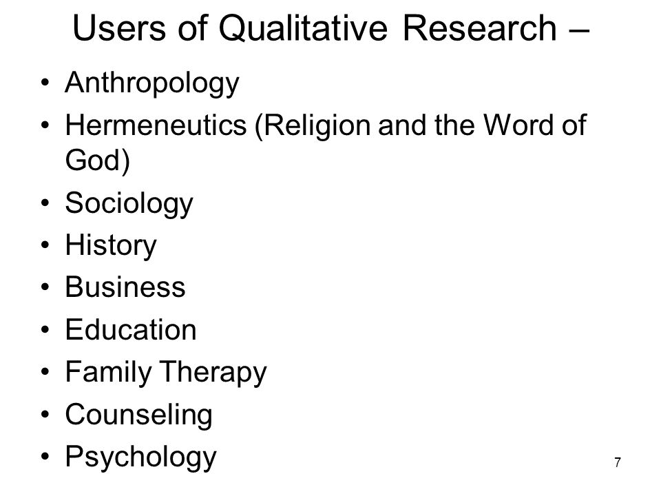 Qualitative Research Papers