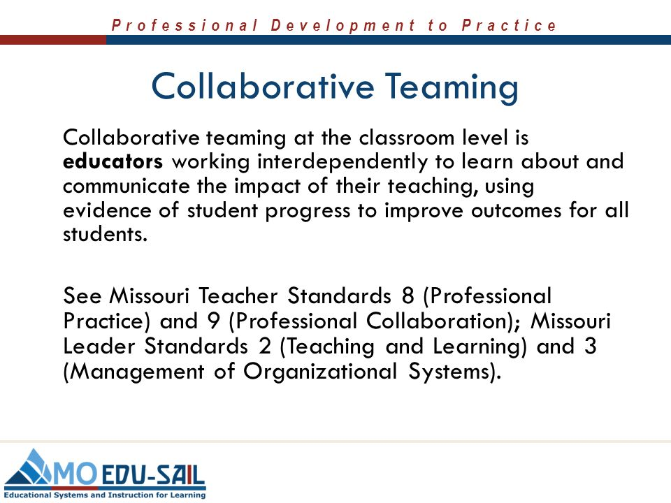 Collaborative Teaching Definition ~ Collaborative data teams ppt download