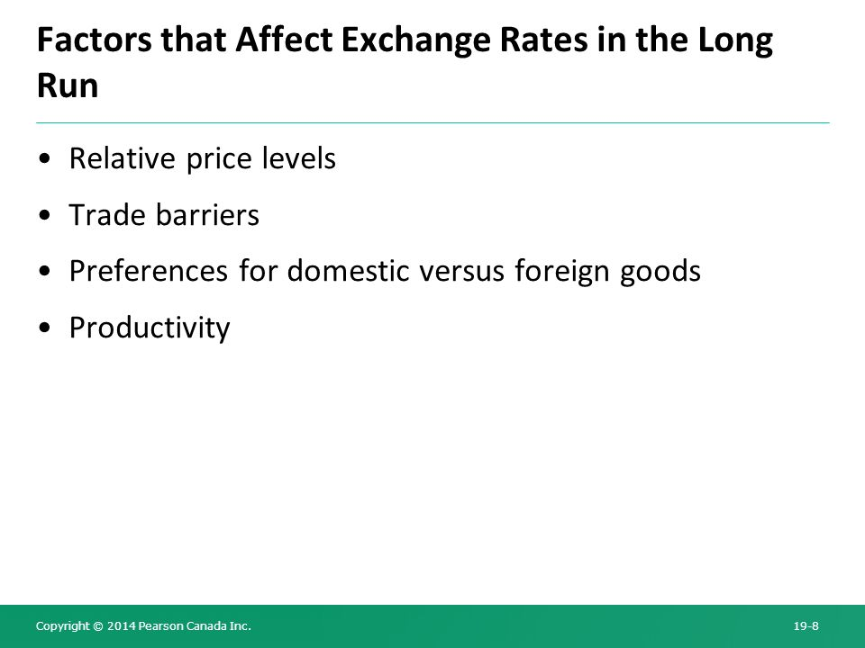 definition of exchange rate and what are the factors which affect it 18 globalization and exchange rate policy jeffry frieden  tries is welfare-improving where factors are mobile between them, or when.