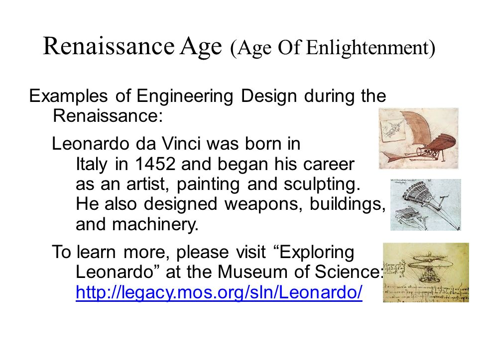 the different innovations during the enlightenment era History books describe the enlightenment as an era of reason, innovation and how did it change during the age of sex was like during the enlightenment.