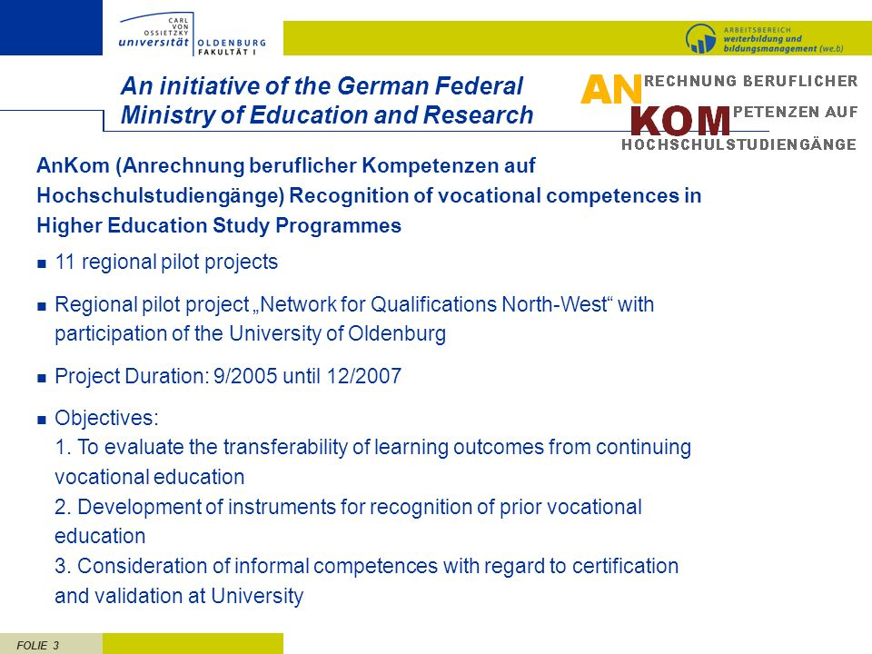 An initiative of the German Federal Ministry of Education and Research