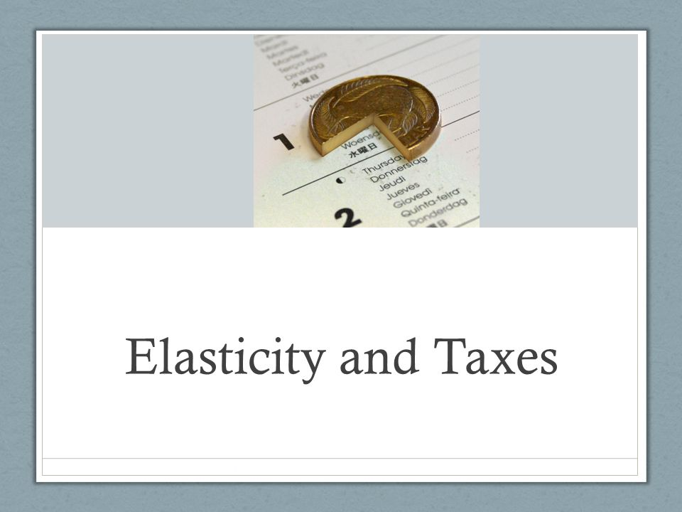tax elasticity An overview of 2 meta-analyses of the price elasticity of gasoline, which both predict that a rise in gas taxes will cause consumption to decrease.