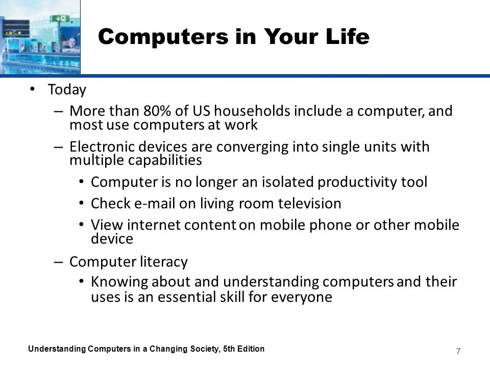 An introduction to the history of the usage of computers in todays society