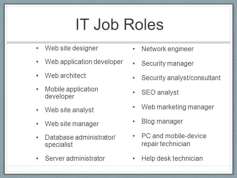 Web Developer Job Duties. Web Developer Job Description