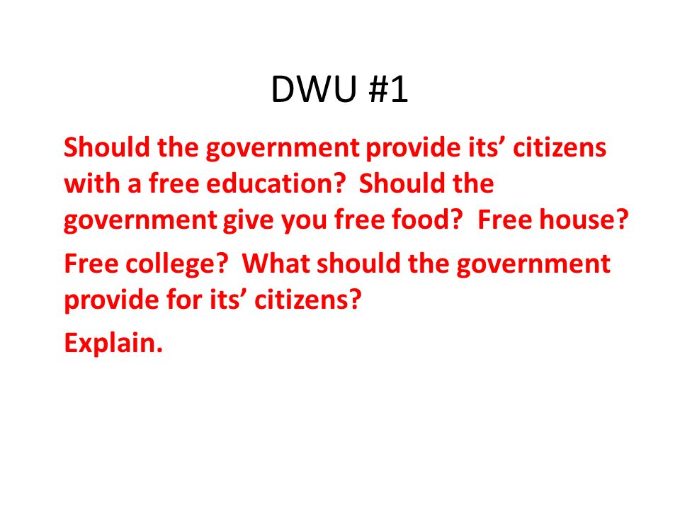 should a country provide free education Best answer: yes breanna, college or post-secondary education should be free to everyone this lifts the educational level of the entire country if people could go to college, or technical schools like welding, automotive, or other training schools for free up until say, age 22, then this entire country.