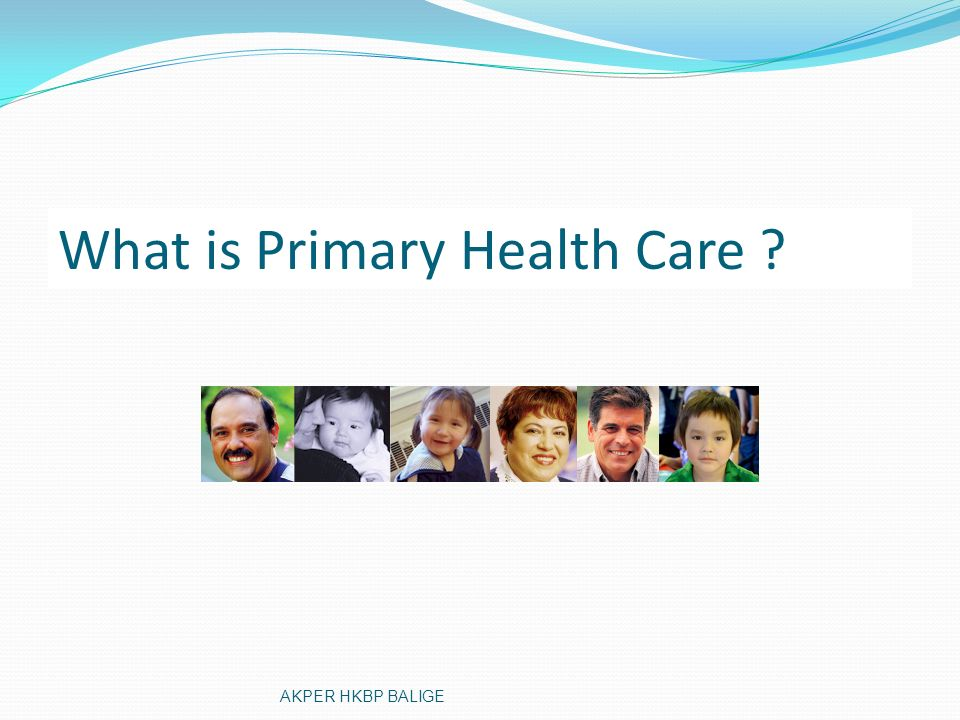 What is Primary Health Care