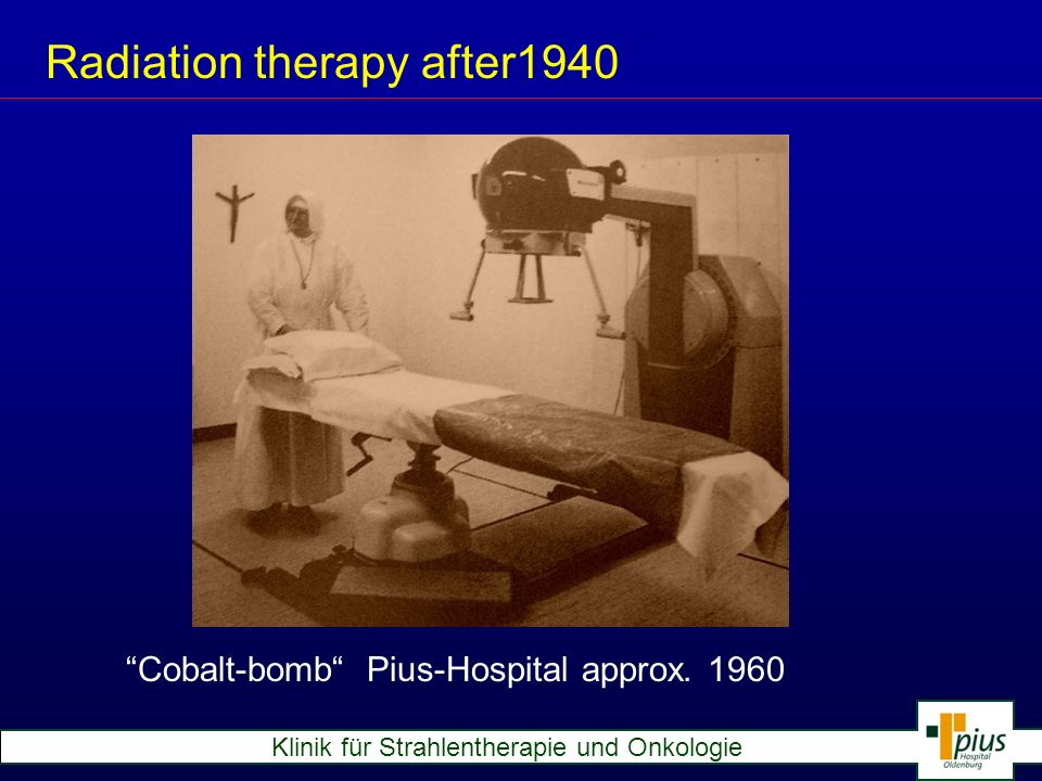 Radiation therapy after1940
