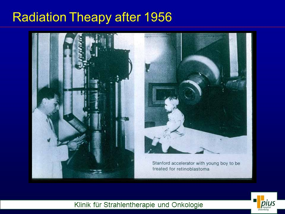 Radiation Theapy after 1956