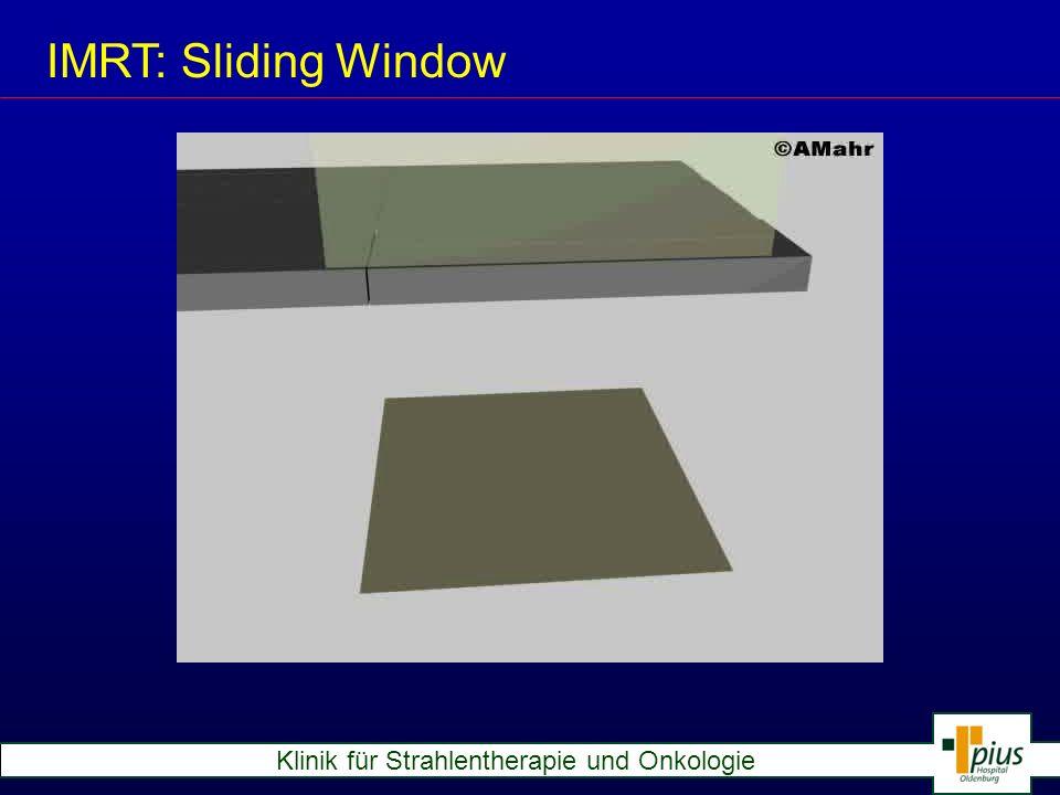 IMRT: Sliding Window