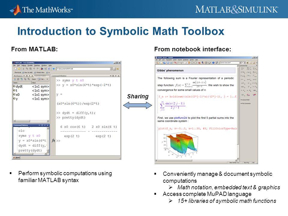 Download Matlab Toolbox Symbolic Pigiplatform