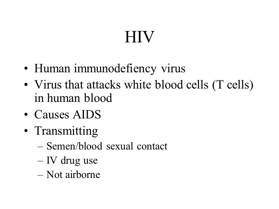 HIV Human immunodefiency virus