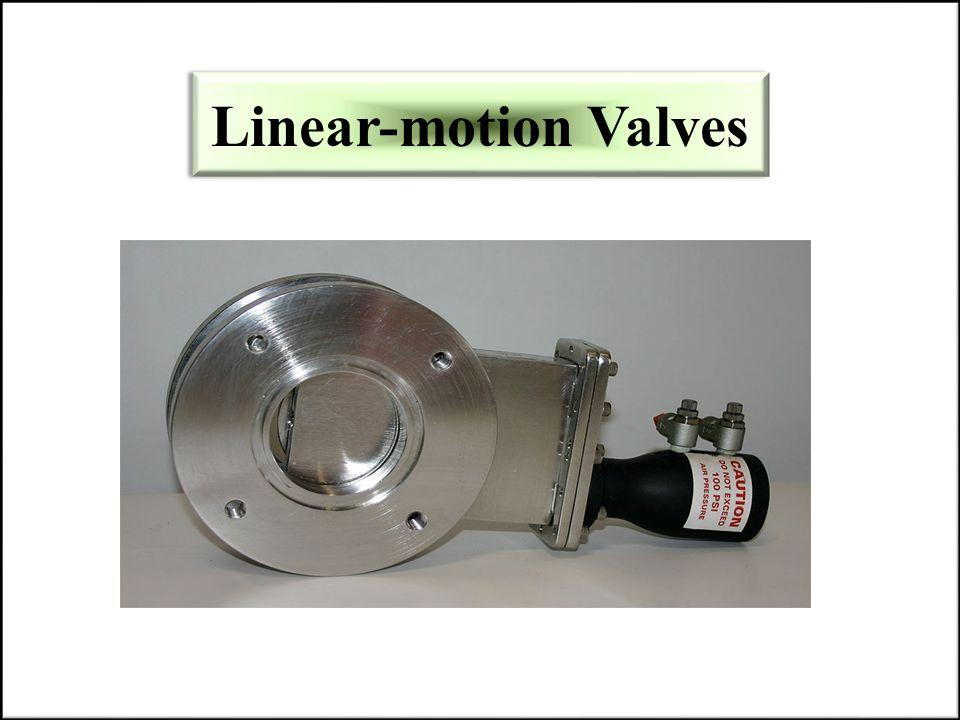Linear-motion Valves