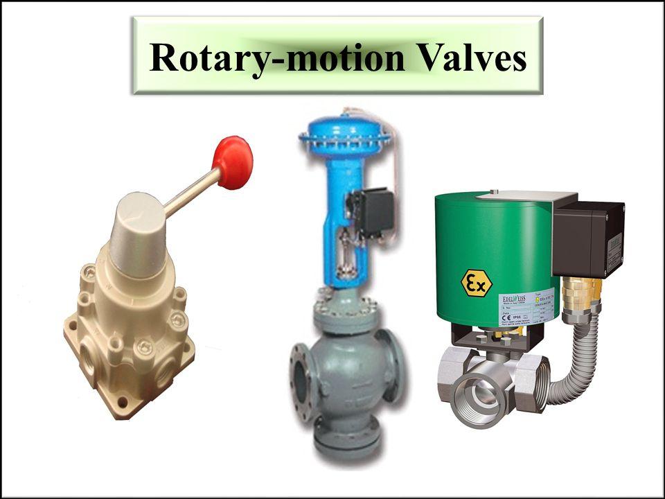 Rotary-motion Valves