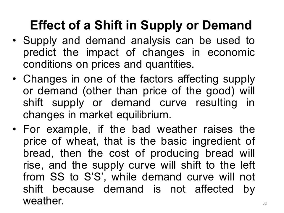 the effect of supply curve shift I have to say how the supply curve shifts because oil in the us and mexico is drying up will the supply curve shift to the right or the left due to this.