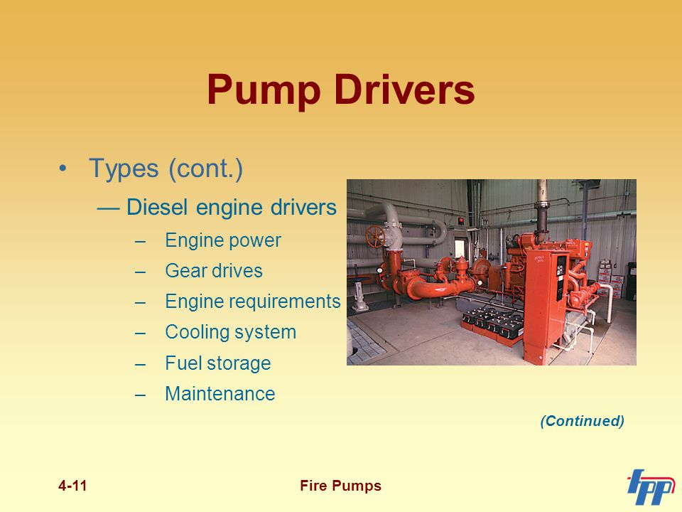 Fire Pump Functions The Main Function Of A Fire Pump Is To