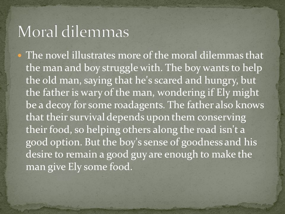 moral and ethical dilemma essay The case study presents a moral dilemma based on potential harm to innocent people by using kohlberg's moral development model and by examining major.