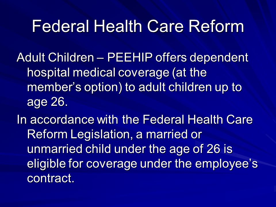 federal health care The interim federal health program (ifhp) covers certain pre-departure medical services for refugees coming to canada for resettlement this coverage includes the following services: immigration medical exams and follow-up treatment of health conditions that would make someone inadmissible to canada.