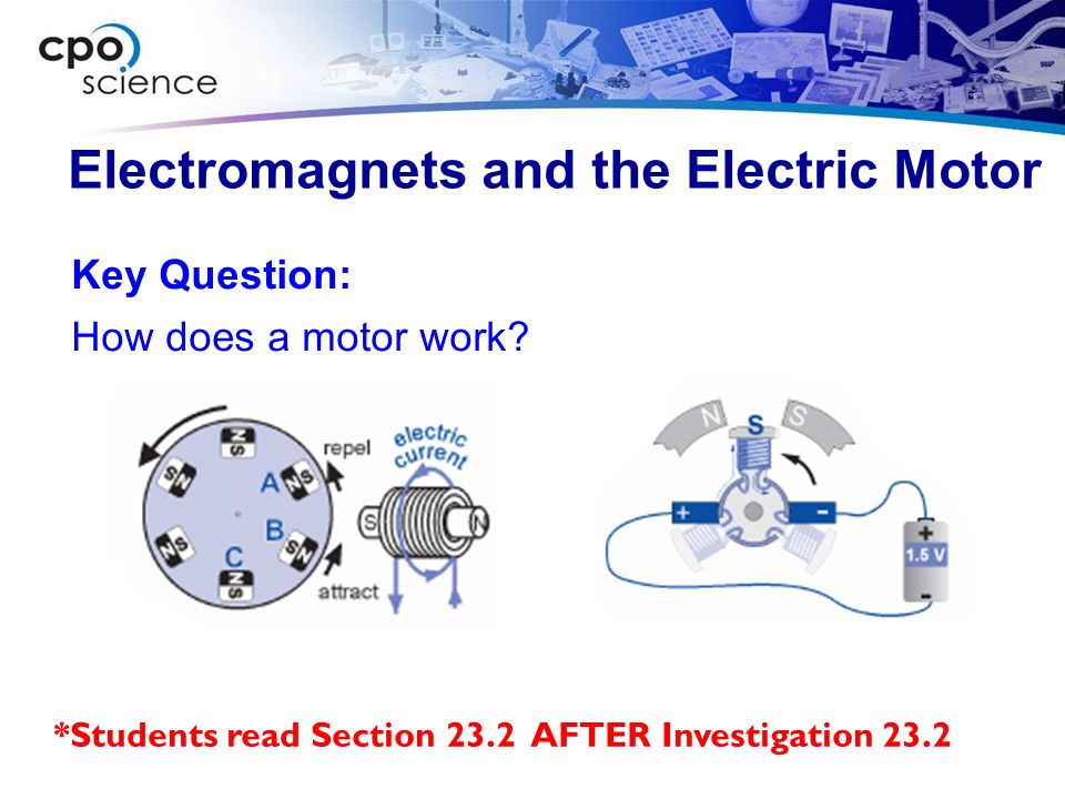 electricity magnetism and my electric motor Electric motors how do electric an electric motor is the fundamental electro-mechanical energy converter that uses the forces of electricity, magnetism, angular.