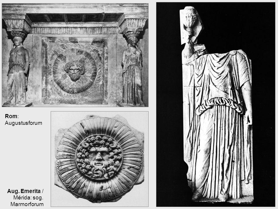 Rom: Augustusforum Aug. Emerita / Mérida: sog. Marmorforum