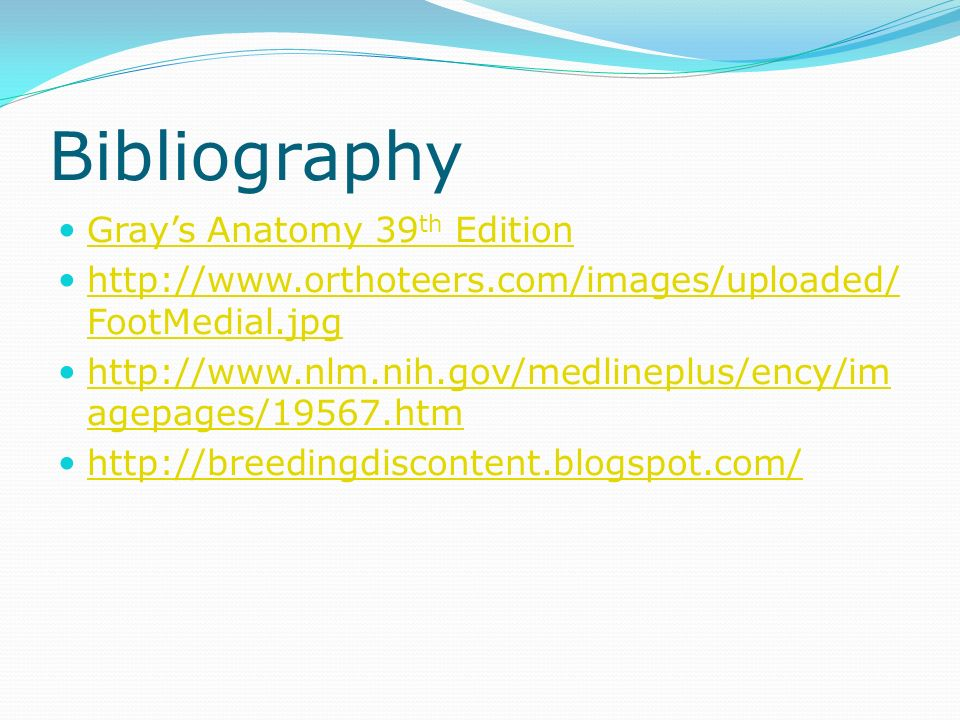 anatomy bibliography Lecture materials for amy warenda czura, phd suffolk county community college eastern campus primary sources for gures and content: marieb, e n human anatomy & physiology 6th ed san francisco: pearson benjamin cummings, 2004.