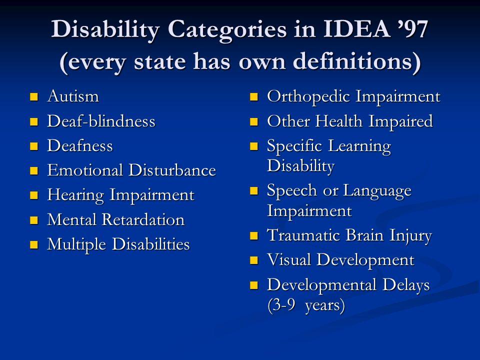 other health impairment Other health impairments national association of special education teachers.