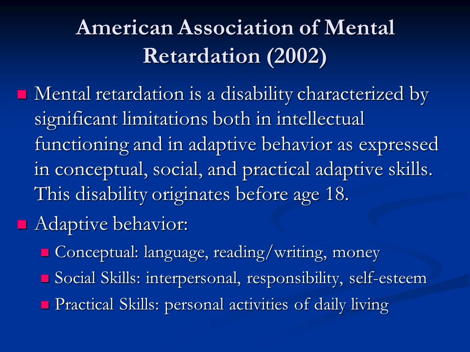 reading and students with mental retardation Title: reading methods for students with mental retardation author: technology & education center last modified by: susan copeland created date.