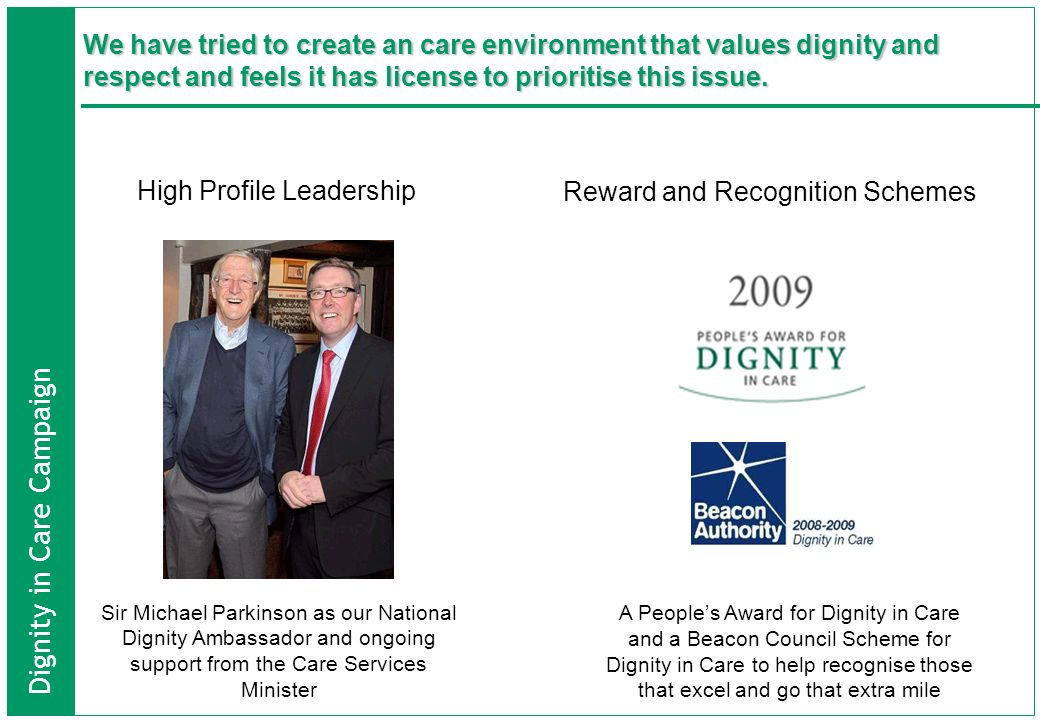 High Profile Leadership Reward and Recognition Schemes