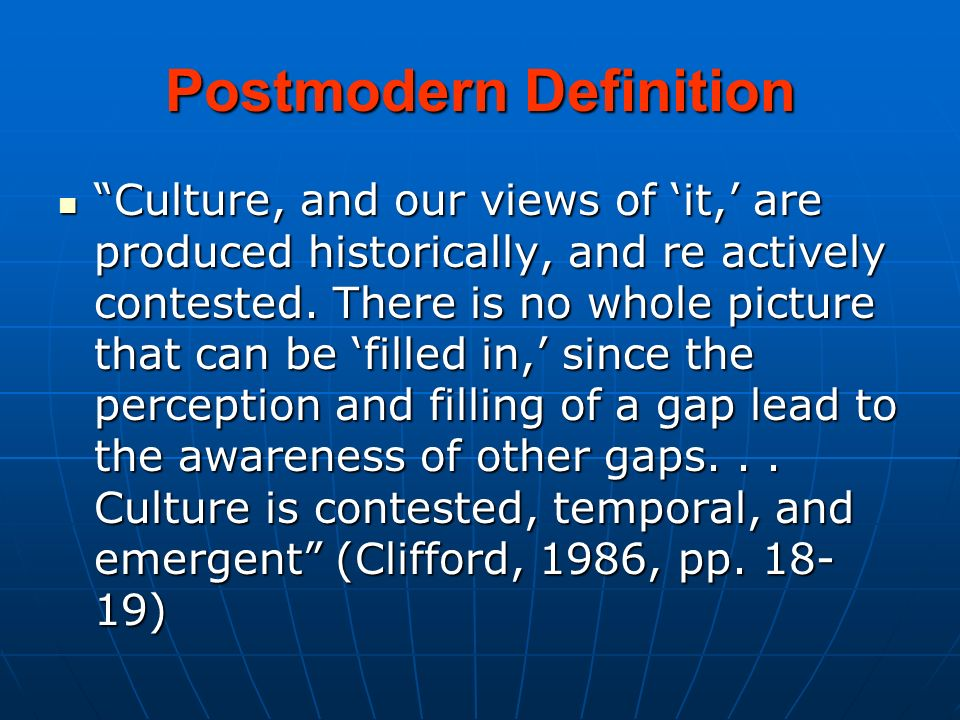 Definitions of Culture - ppt download