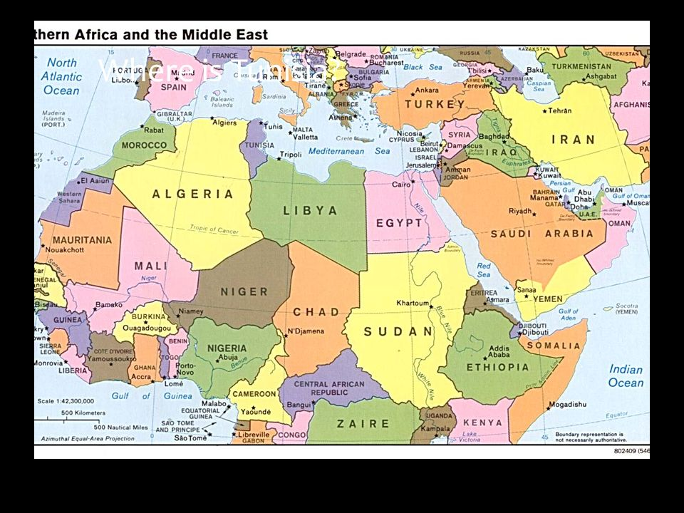 YEAR Term Review Of Middle Ages End Of Middle Ages Ppt - Where is tunisia