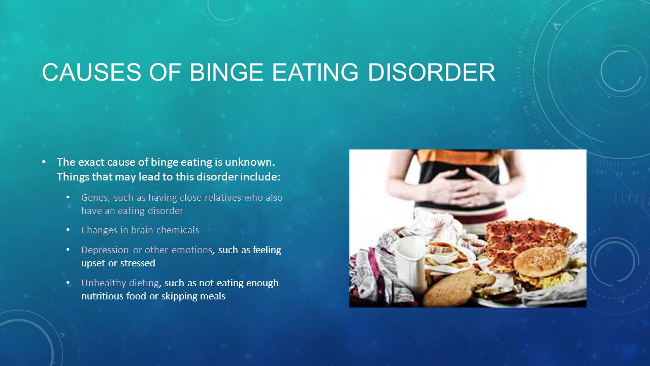 Cause celebrity disorder eating not