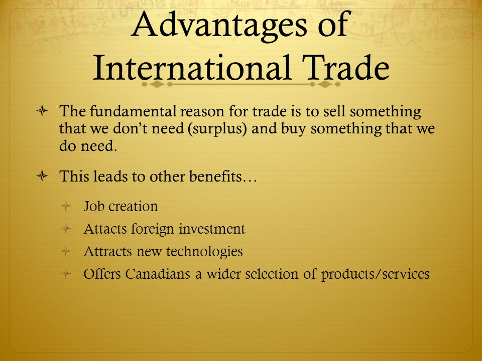 advantages disadvantages of international trade Article shared by essay on the advantages and disadvantages of international  trade  advantages of international trade: international trade which enable.