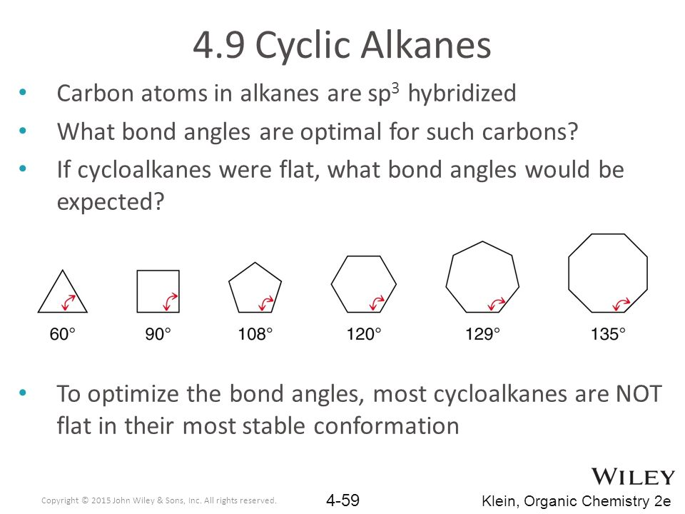 Why Does Cyclopropane Have The Most Ring Strain