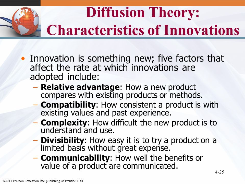 Diffusion of innovations and compatibility