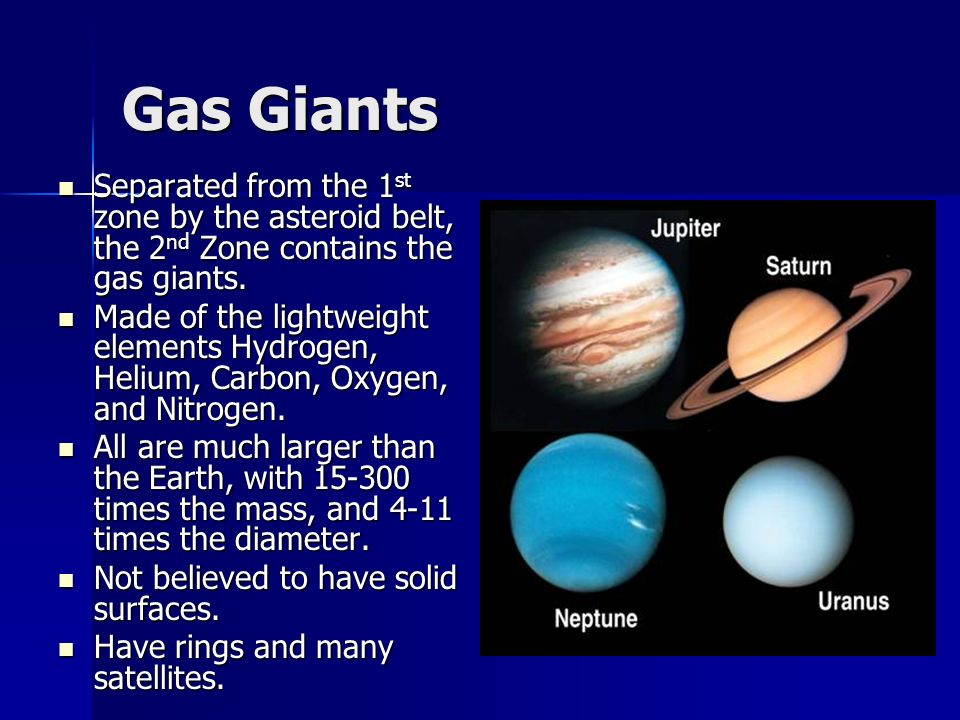 all four gas giants - photo #46