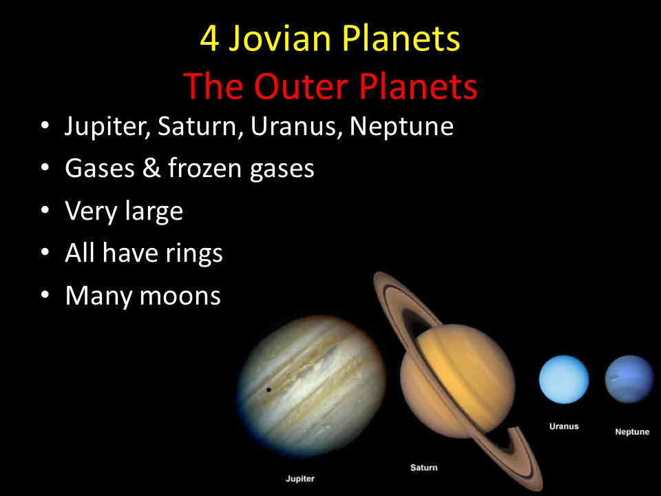 a research on the four jovian planets jupiter saturn uranus and neptune The four jovian planets are jupiter, saturn, uranus , and neptune.